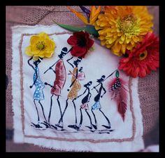 África, serie pintada by Castellana Lane. Handmade & Natural