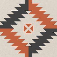 Antique Geometric Blocks (Navajo)