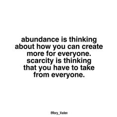 Abundance is thinking about how you can create more for every one. Scarcity is thinking that you have to take from everyone.  This week's podcast featuring a @sw_consulting Life Story with @elysearcher and her client Alex Pace from @northwesternmutual.  Click the link in my bio to hear this inspiring life story by rory_vaden