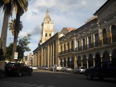 The old Spanish Plaza in Cochabamba, Boliva