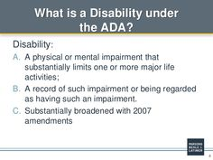 AMERICAN'S DISABILITY ACT - Google Search