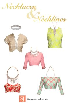 Easy Guide: How to pair necklaces to Outfit Necklines.