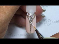 ❤ очень НЕЖНЫЙ и КРАСИВЫЙ дизайн ❤ ОСЕННИЙ дизайн ногтей ❤ Дизайн ногтей гель лаком ❤ - YouTube