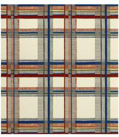Tartan en laine. Carrousel, design Nigel Peake (Hermès)