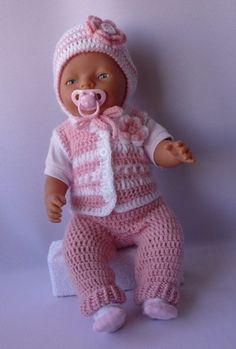 Одежда для кукол ручной работы. Ярмарка Мастеров - ручная работа Кукольный комплект Малютка. Handmade.