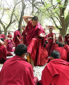 debating - Tibetan buddhist syle