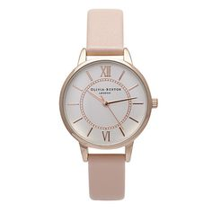 Olivia Burton Wonderland Dusty Pink & Rose Gold Watch: £70.00