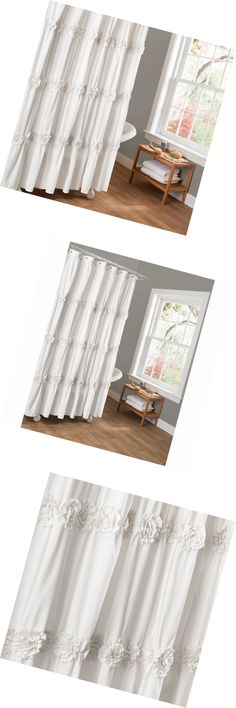 Shower Curtains 20441 Restoration Hardware Heathered Cotton Linen Curtain White 72 X 84 Long BUY IT NOW ONLY 9899 On EBay
