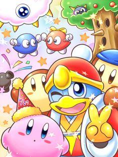 El Rey Dedede y Kirby (¿no eran enemigos? No tengo ni idea... XD) / King Dedede and Kirby