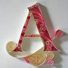 A alphabet wallpaper