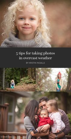 When shooting portraits on an overcast day, the sky can act like a giant soft…