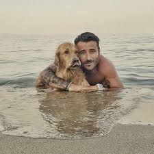 Man And Dog, One And Only, Labrador Retriever, Guys, World, Beach, Animals, Party, Labrador Retrievers