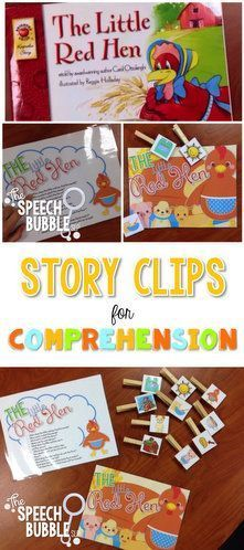Make comprehension more fun than just answering questions.  Keep little hands busy and little minds thinking!