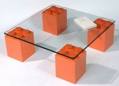 Interior design room: lego table great for a kids den!