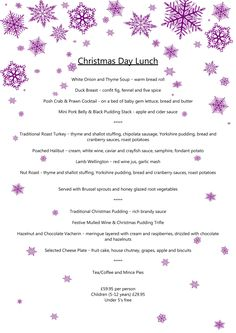 Enjoy at The Kimberley with a festive luncheon! Christmas Day Lunch, Christmas 2019, Christmas And New Year, Mistletoe And Wine, Prawn Cocktail, Black Pudding, White Onion, Roasted Turkey, Pork Belly