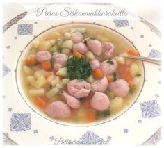 Paras Siskonmakkarakeitto Koti, Oatmeal, Vegetables, Breakfast, Finland, The Oatmeal, Morning Coffee, Rolled Oats, Vegetable Recipes