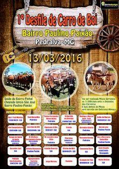 Festas de Carros de Boi: Desfile de Carro de Boi de Pedralva - MG