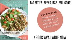 The 'Summer Edition' of Whole Food Plant Based on $5 a Day is Now Available!