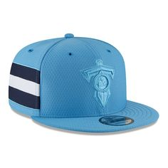 4f75f020437fdb Tennessee Titans New Era 2018 NFL Sideline Color Rush Official 9FIFTY  Snapback Adjustable Hat – Powder Blue
