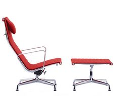 Ray og Charles Eames - Aluminium Group Chairs EA 124 / 125