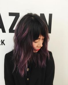 Pink Balayage Ombre for Asian Hair