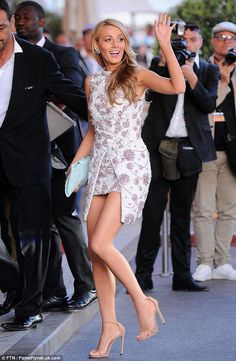 Loving this outfit! She's rocking Cannes 2014