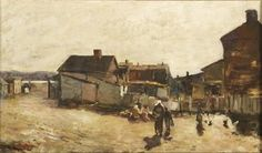 African American Artist, American Artists, Henry Ossawa Tanner, Moving To Paris, Pennsylvania, Philadelphia, Oil On Canvas, Fine Art, Painting