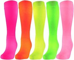 Neon Tube Socks ☻                                                                                                                                                                  ⇜•ṄεΦЙ❉€яᗛƶΣ•⇝