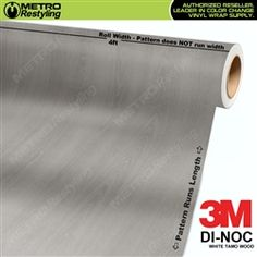 3M DI-NOC BURMA TEAK WOOD Grain Vinyl Sheet Wrap Film Sticker Roll Adhesive