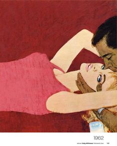 1962 illustration by Coby Whitmore for Women's Own Magazine.