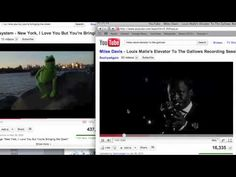 """Miles Davis """"improvising"""" on LCD Soundsystem """"New York I love you, but you are bringing me down"""""""