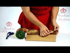 ¿Cómo armar tu Corona Navideña de ensueño? - YouTube