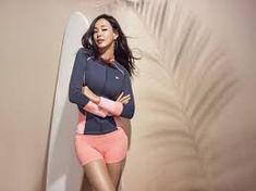 It's no secret that Honey Lee possesses one of the most enviable figures in the Korean entertainment industry, so we weren't surprised when the Miss-Universe-contestant-turned-actress was selected to become the face of athletic brand 'Renoma Swim'! Meet Singles, Korean Entertainment, Korean Artist, Korean Actresses, Korean Model, Korean Beauty, Beauty Women, The Selection, Sporty