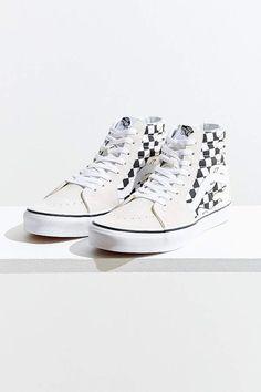 2989829871 Vans Sk8-Hi Checkerboard Flame Sneaker  Sneakers