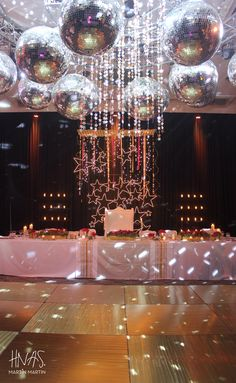 Quinceanera Party Planning – 5 Secrets For Having The Best Mexican Birthday Party Disco Theme Parties, Disco Party Decorations, Disco Birthday Party, Party Themes, Ideas Party, Studio 54, Quinceanera Party, Party Lights, Nouvel An