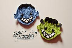 Krawka: Halloween Coaster - Frankenstein's monster