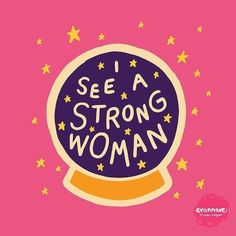 I see a strong woman/ quotes/ life motivation + Inspiration/ word up/ graphics/ art prints/ typography/ feminism/ feminsit art/ girl gang/ female empowerment Lettering, Typography, Framed Art Prints, Canvas Prints, Wall Prints, Fun Prints, Illustrations, Wall Collage, Women Empowerment