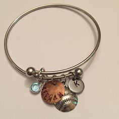 Create your own charm bracelet Add a charm by HandmadewLovebyKCN