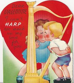 Now I need a harp...so I can do something bigger than this with it...