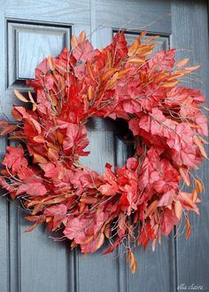 I have been trying to find a good Autumn wreath for my front door, and I haven't had muchluck. I like my wreaths to be pretty simple,natural and elegant, with not a lot of craftiness going on. I like the classic look on my black front door. I looked at a bunch of different wreaths...Read More »