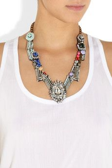 Dynasty crystal necklace