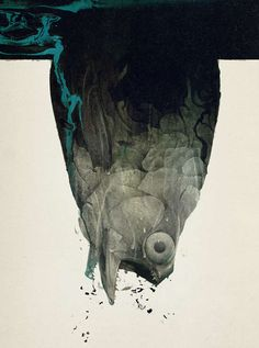 Abstract Fashion Illustrations : Russ Mills