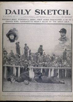 An ACCIDENTAL martyr? The 100-year mystery of why suffragette Emily Davison…