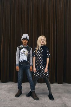Find the best colors and designs for this season kids' fashion.