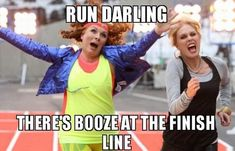 Six Ab Fab quotes to use in real life - MyDaily UK Running Quotes, Running Motivation, Fitness Motivation, Running Humor, Fitness Routines, Running Gear, Girl Running, Life Motivation, Forrest Gump