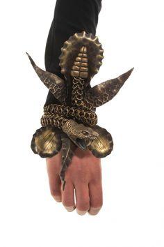 Snake Bracelet by Leah Aripotch Buy it: http://shop.inspirare.com/items/snake-bracelet