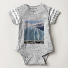 Perito Moreno Glacier Argentina 2 Baby Bodysuit -nature diy customize sprecial design