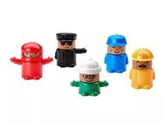 IKEA Lillabo Interchangeable Toy Figures Original (Unopened) / 5 Pack Brand New! #IKEA