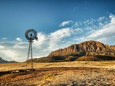 Windmill Over Desert Ranch Free Stock Photo - Public Domain Pictures Southwest Image, Farm Windmill, Namibia, Cute Kitten Gif, Cool Art Drawings, Cabins In The Woods, Nature Scenes, The Ranch, Free Stock Photos