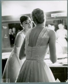 Audrey Hepburn and Grace Kelly.... Perfection